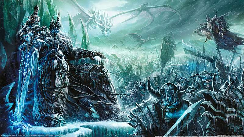 World of Warcraft: Wrath of the Lich King fond d'écran