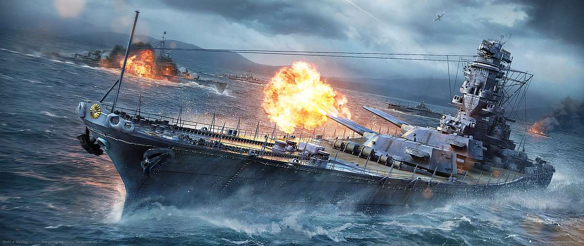 World of Warships fond d'écran